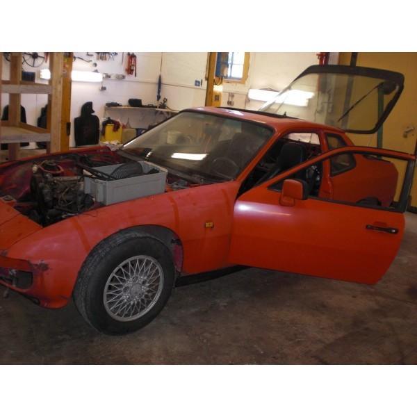 Porsche 924 Turbo Schlachtfest