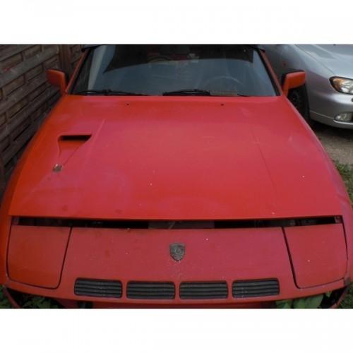 Porsche 924 Turbo Motorhaube und Frontblech